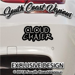 Cloud chaser vinyl decal
