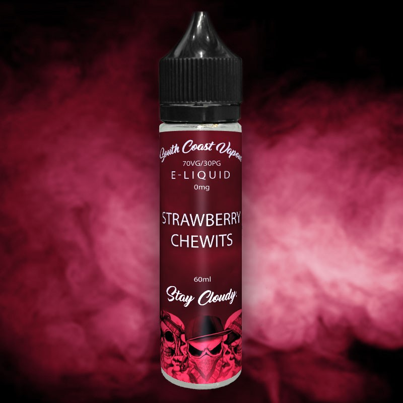 Strawberry Chewits flavour vape juice