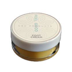 CBD FOOT CREAM 10ML 200mg cbd