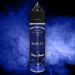 Blue Ice flavour vape juice...